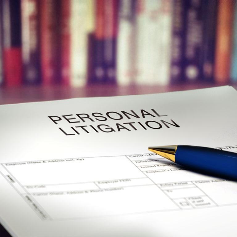 Robinsons Solicitors personal litigation